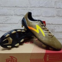 Sepatu Bola Specs Accelerator Fury Gold Yellow 100656 original