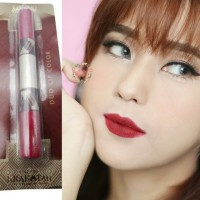 Sariayu Duo Lip Color Lipstik Matte Glossy