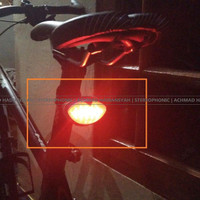 Lampu Sepeda Belakang | 5 Led Bicycle Rear Light | Rear Lamp ZH1108 |