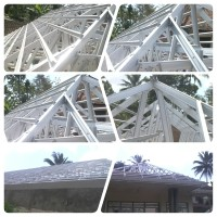 harga rangka atap baja ringan di malang jual 085755598020 galvalum borongan
