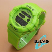 jam tangan digital wanita sporty anti air terbaru branded babyg qnq