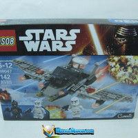 Mainan Blok / Block (LIKE LEGO) STARWARS / STAR WARS 142PCS SERI 88047