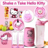 KB - Shake n Take Hello Kitty 2 cup/gelas Juicer Blender Kitty Blend a