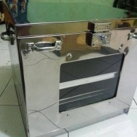 OVEN TANGKRING STAINLESS TANPA THERMO 40X40X40