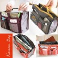 Korean Bag in bags Double Resleting ipad bb iphone tablet pouch