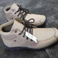 Sepatu Kulit Asli JUGER SE016, Sepatu Boot Kulit Pria Casual