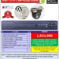 Paket 3 Kamera CCTV Rekam HD 1.3Megapixel Camera Outdoor Indoor Online