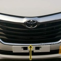 Cover Grill Grand New Avanza All Toyota Altis Jual List Xenia 2016 Chrome Multi Bawah Bumper Great