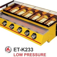 BROILER/4BURNER BBQ GAS (ET-K233)