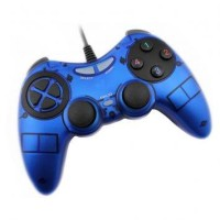 VZTEC USB Vibration Controller Joystick Model (VZ-GA6005) Blue