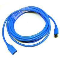USB 3.0 Male to Female Extension Cable - 5M - Blue