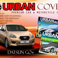 DATSUN GO+ DELUXE SILVER COVER SELIMUT MOBIL URBAN ANTI AIR WATERPROOF