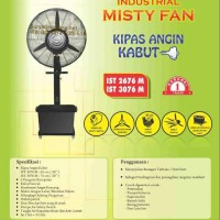 Sekai Misty Fan IST3076M Kipas Angin Industri 30