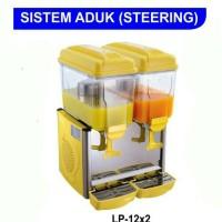 Juice Dispenser Gea LP-12x2 Liter / Dispenser Pendingin Minuman