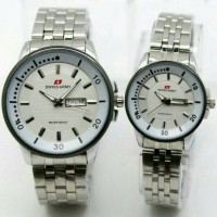 Jam Tangan Couple Swiss Army/Rolex/Mini Cooper/Guess