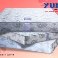 KASUR / MATRAS Merk YUKI SPRING BED Type MEDIUM COMFORT uk.120 (no.3)
