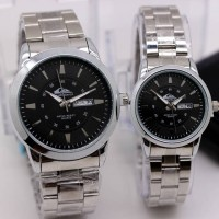 JAM TANGAN COUPLE QUICKSILVER KEREN CHRONO SUPER PREMIUM