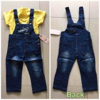 Annbaby Jeans Vintage Overall | Celana Jeans Anak | Import