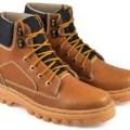 Sepatu Boot/Jungle/Outdoor Kulit Pria/Laki2/Cowok,SBR SIX - BSC 775