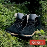 Jual Sepatu Kickers Tracking Men Black KW/Original Replika Murah Bar