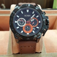 Jam Tangan Branded Bonia Super Premium Leather Strap