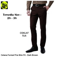 Celana Formal Pria High Quality Disign slim fit