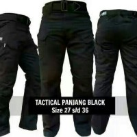 Celana Panjang Cargo | Tactical Hitam | Blackhawk | Outdoor
