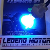 Lampu LED T10 1 Titik KERAMIK Merk Luminos / 9Nine