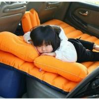kasur tempat tidur mobil udara angin travel piknik car bed neck pillow