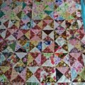 patchwork / quilting bed cover
