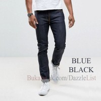 PROMO Celana Jeans Abu Muda - Light Grey Slim Fit ((MURAH))