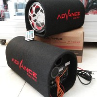 Speaker Advance Subwoofer T101-KF Bisa ditaruh mobil ,Bisa utk Karaoke