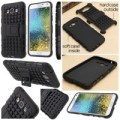 Rugged Armor Hard Soft Case Cover Casing KickStand Samsung Galaxy E7