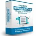 Database Supplier Termurah dan Terlengkap di Indonesia