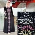 arab gamis kaftan maxi hitam maxy dress longdress xl jumbo big size