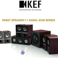 KEF Q100 paket 7.1 speaker pasif home theater sln jbl Q b&w focal