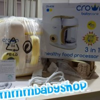 CROWN FOOD MAKER 3in1 CR4038 Processor Baby Bayi- Blender