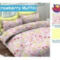 Sprei STAR Strawberry Muffin2 Ukuran 180x200