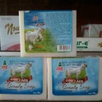 AINIE GOAT'S MILK BEAUTY SOAP/SABUN SUSU KAMBING 70GR (HARGA PER PCS)