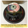 Speaker Subwoofer American Boss 12 inch ABS12952 350 Watt / 12