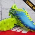 ready stok Sepatu Bola Anak-Soccer Nike Hypervenom II Navy Hijau Anak