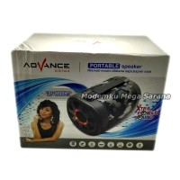 Advance Speaker Mini Music Box MP3 Player TP700BT - Blu Murah