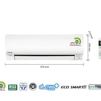 PANASONIC AC 3/4 PK KN7SKJ lowwatt [INDOOR   OUTDOOR ONLY]