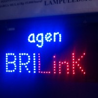tulisan lampu led / led sign agen bri link new - like running text