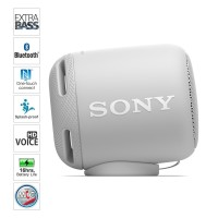 Sony Extra Bass Bluetooth Speaker Portable SRS-XB10 / SRS XB10 - WHITE