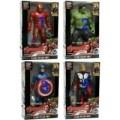 Mainan Robot Avengers 2, CaptainAmerca, Hulk, Iro Man, Thor/maian anak
