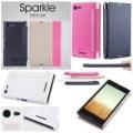 Sony Xperia E3 Dual / E3 - Nillkin Sparkle Series Leather Case