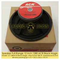 Speaker Full Range 12 inch 1280 ACR Black Magic/FullRange ACR 12