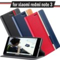 X-PHASE FLIP COVER Xiaomi redmi note 1 2 3 pro case leather casing hp