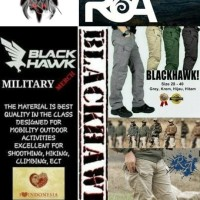 031 - CELANA PANJANG / PDL ARMY TACTICAL BLACKHAWK OUTDOOR